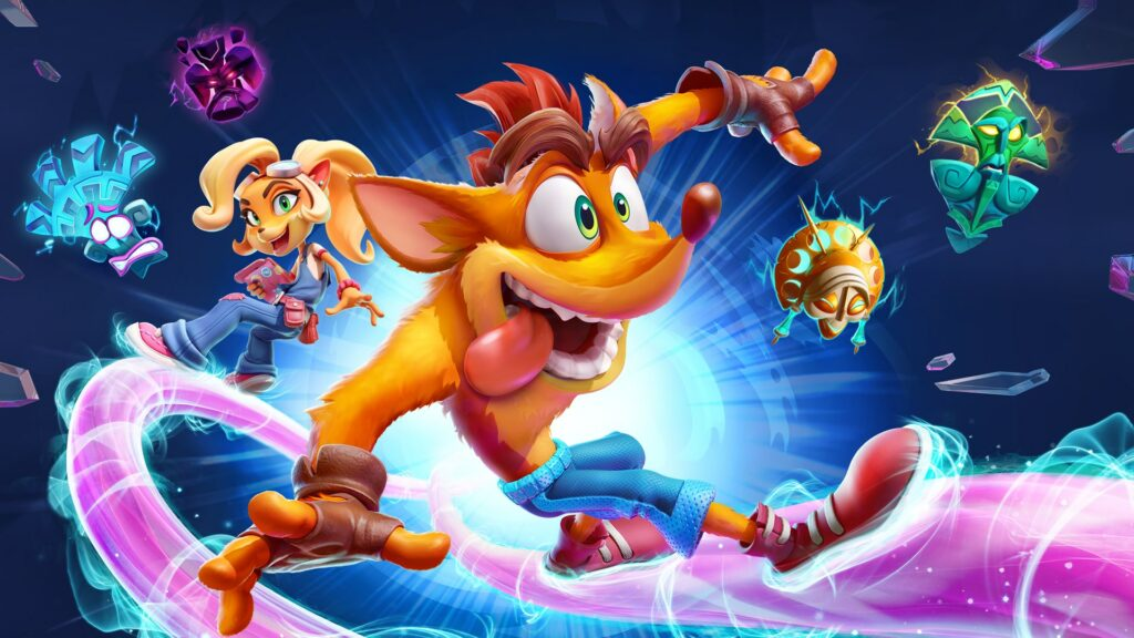 Lanzamiento oficial de Crash Bandicoot 4: It's About Time