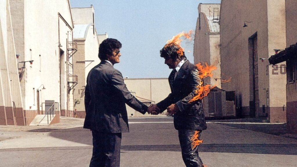 """Wish You Were Here"" de Pink Floyd cumple 45 años"