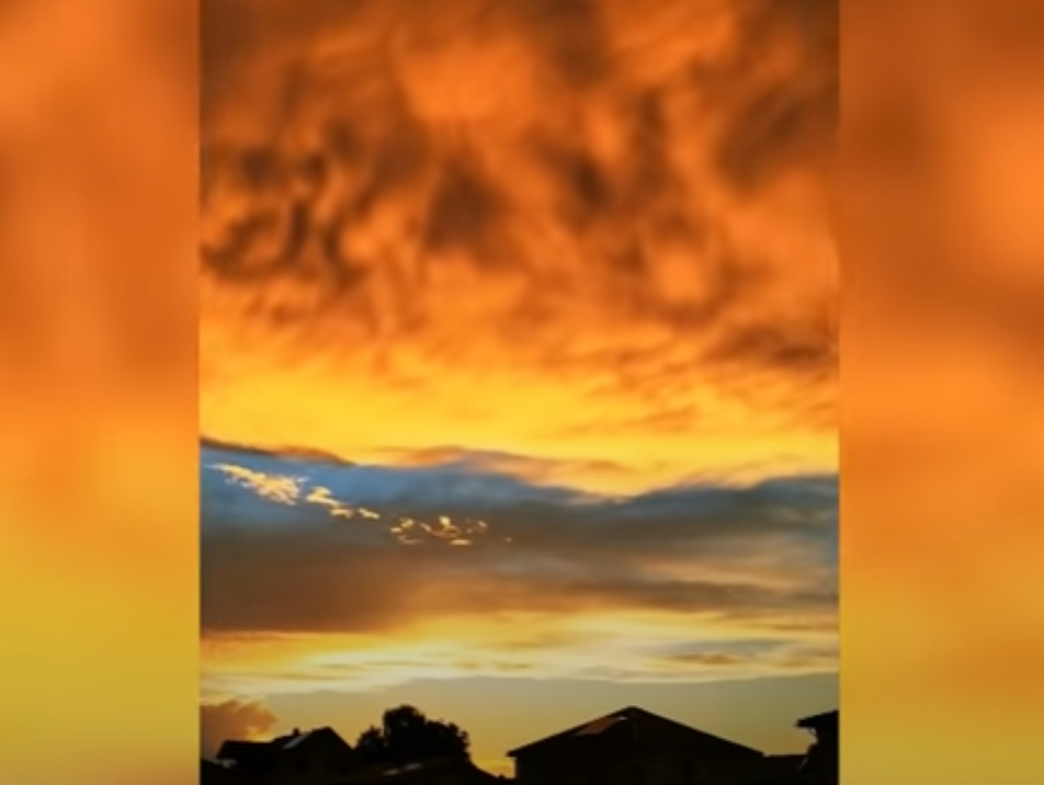 "VIDEO: Captan nubes ""infernales"" y causan temor"