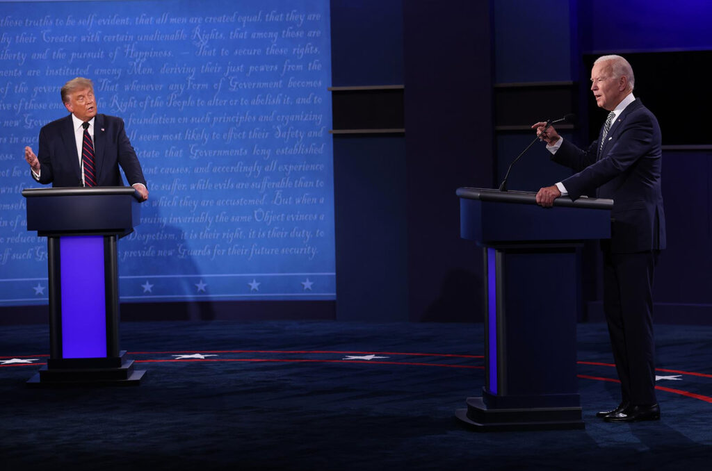 Cancelan segundo debate entre Donald Trump y Joe Biden