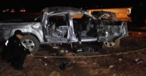 Terrible accidente en carretera a Chihuahua deja sin vida a 6 integrantes de una familia