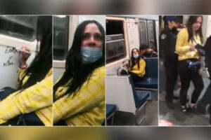 Arrestan a #LadyRayones en el Metro (Video)